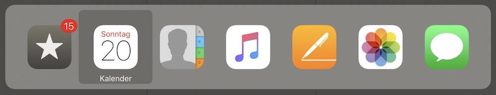 App-Wechsler unter iOS 9