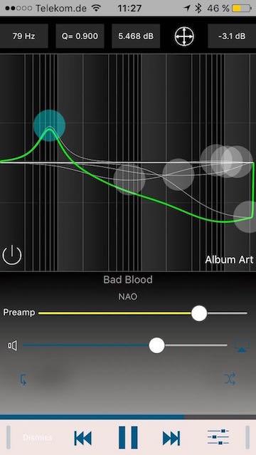 Equalizer von Audioforge - Screenshot