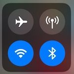 WLAN und Bluetooth, Kontrollcenter iOS 11